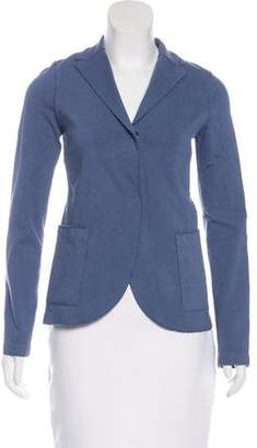 Harris Wharf London Boyfriend Notch-Lapel Blazer