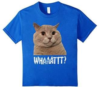Crazy Cat What T-Shirt