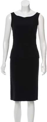 Lanvin Wool-Blend Dress