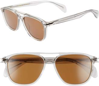 Rag & Bone 54mm Aviator Sunglasses