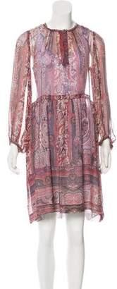 Isabel Marant Sheer Silk Dress