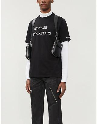 Selfridges The Soloist Teenage Rockstars cotton-jersey T-shirt