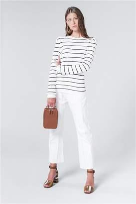 Sonia Rykiel Ribbed Knit Striped Jumper