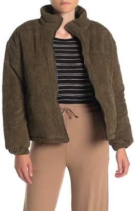 Elodie K Corduroy Bomber Jacket