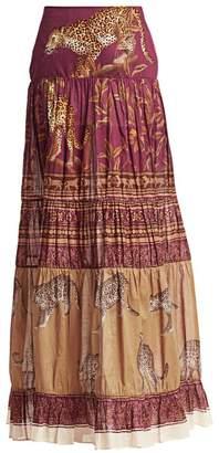 Johanna Ortiz The Last Kashmiri Printed Maxi Skirt