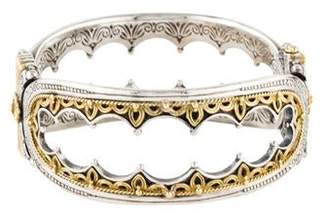 Konstantino Two-Tone Hebe Crown Bracelet