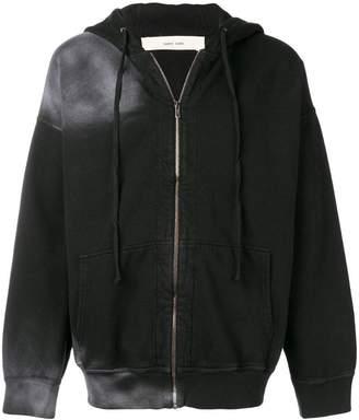Damir Doma back print zipped hoodie