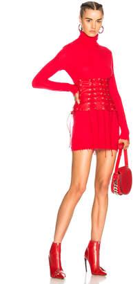 Unravel Destroyed Turtleneck Sweater Dress