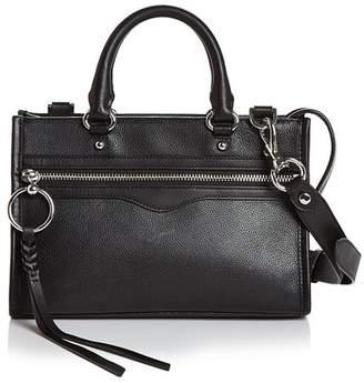 Black Leather Satchel Silver Hardware - ShopStyle 801beca2330e5