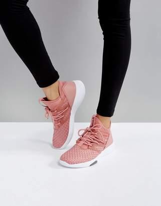 Reebok Training Hayasu Sneakers In Dusky Pink $111 thestylecure.com
