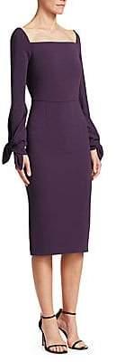 Roland Mouret Women's Maplewell Jersey Sheath Dress