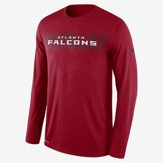 Nike Dri-FIT Legend Seismic (NFL Falcons) Men's Long Sleeve T-Shirt
