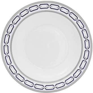 Vera Wang With Love Nouveau Indigo Rimmed Soup Plate