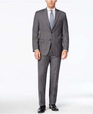 Lauren Ralph Lauren Men's Grey Plaid Ultraflex Pure Wool Classic-Fit Suit $650 thestylecure.com