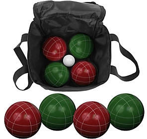 Hey! Play! 9 Piece Bocce Ball Set with Carry Ba
