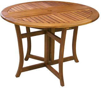 One Kings Lane Eucalyptus Outdoor Dining Table