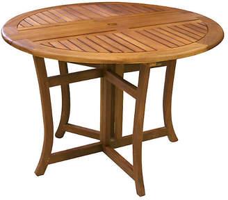 One Kings Lane Eucalyptus Outdoor Dining Table