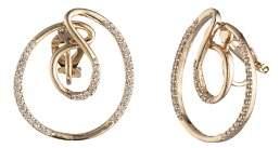 Carolee Swirl Clip-On Earrings