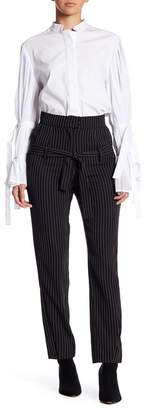 TOV Striped Highwaisted Trousers