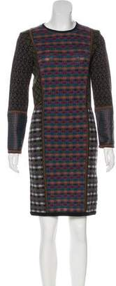 Etro Wool Patterned Dress