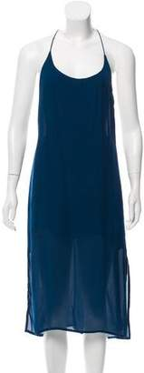 Mikoh Sleeveless Silk Dress