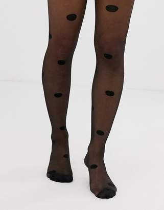 Asos Design DESIGN 20 denier oversized spot tights