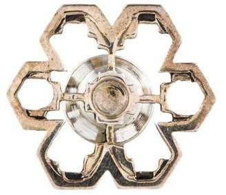 John Hardy Snowflake Lapel Pin