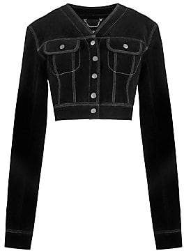Marc Jacobs Women's Redux Grunge Suede Cropped Jacket