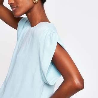 River Island Womens Blue short sleeve T-shirt