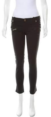 Elisabetta Franchi Low-Rise Skinny Pants