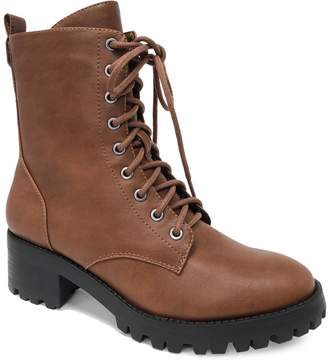 Lexi & Abbie Lace-Up Combat Boots