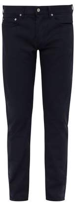 Stone Island Slim Leg Cotton Chino Trousers - Mens - Navy