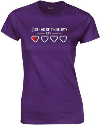 Print Wear Clothing Just One Of Those Days, Ladies Printed T-Shirt