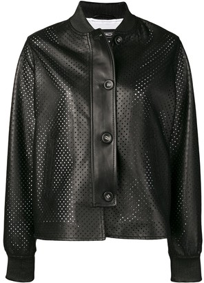 Simonetta Ravizza Ibiza leather jacket