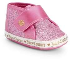 bd740f524c Juicy Couture Baby Girl s Santa Cruz Glittered Sneakers