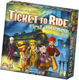 Asmodee Ticket to Ride: First Journey Board Game
