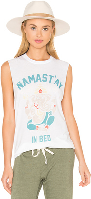 The Laundry Room Namastay In Bed Muscle Tee $83 thestylecure.com