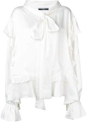 Faith Connexion oversized ruffled blouse