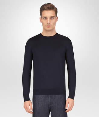 Bottega Veneta DARK NAVY MERINO SWEATER