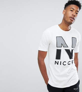 Nicce London t-shirt in white exclusive to ASOS