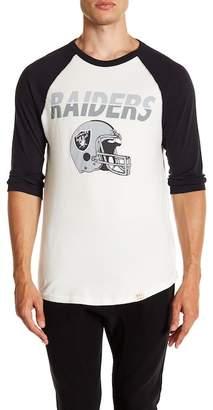Junk Food Clothing Oakland Raiders All American Raglan Shirt