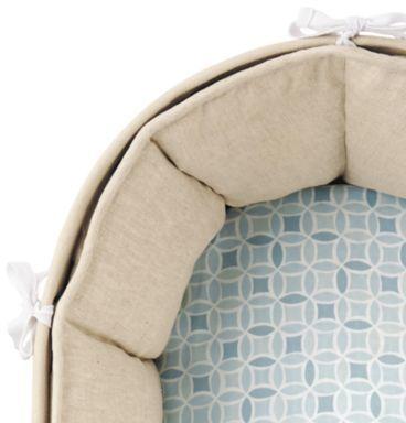 Sausalito Fitted Sheet Blue Kaleidoscope
