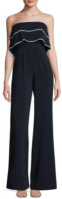 Jay Godfrey Women's Johnston Double Layer Jumpsuit