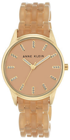 Anne Klein Anne Klein Smooth-Bezel Analog Watch