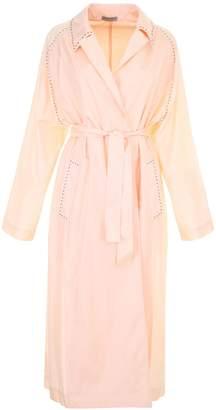Bottega Veneta Waterproof Silk Trench Coat