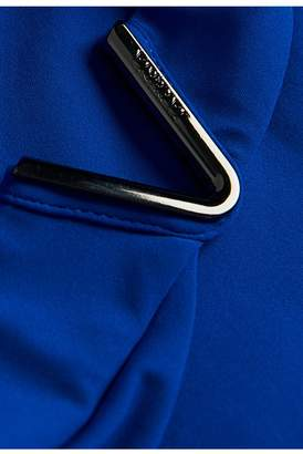 La Perla Aquamarine Electric Blue Mid-Rise Bikini Briefs With V Hardware