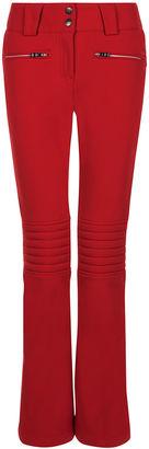 Perfect Moment Red Aurora Flare Ski Pants