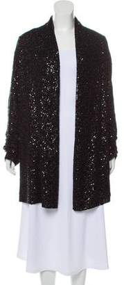 Donna Karan Cashmere & Silk-Blend Sequined Cardigan