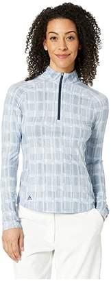adidas Ultimate Climacool Printed Long Sleeve Polo