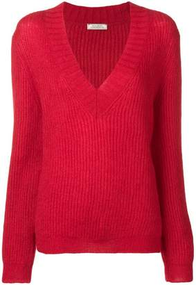Nina Ricci v-neck knit sweater